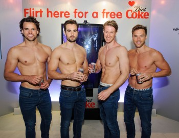 Diet Coke Hunk Vending Machine
