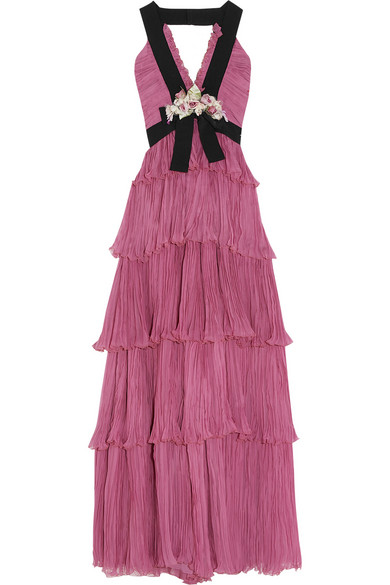 Gucci Tiered Gown