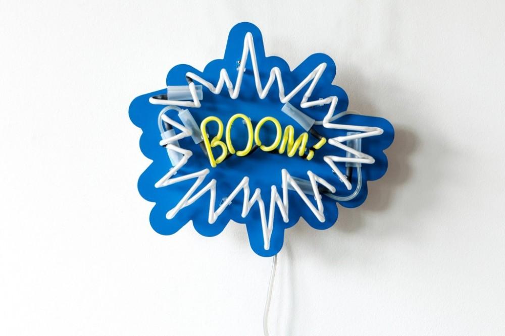 Boom Pop Neon Art