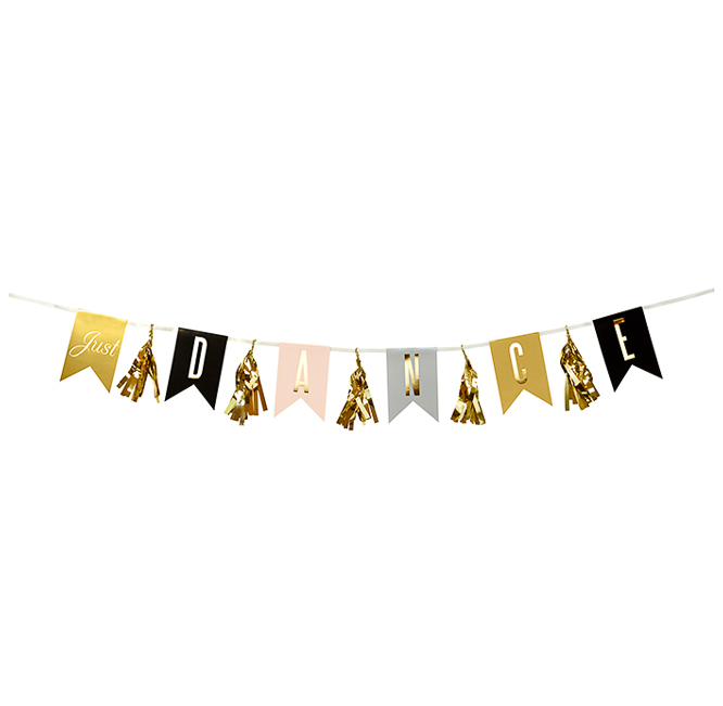 Party Camel Just Dance Bunting