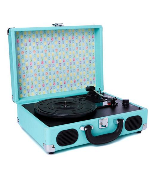 Typo Suitcase Record Player