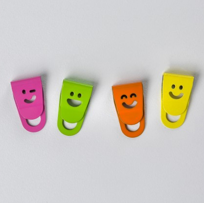 Smiley Face Paperclips