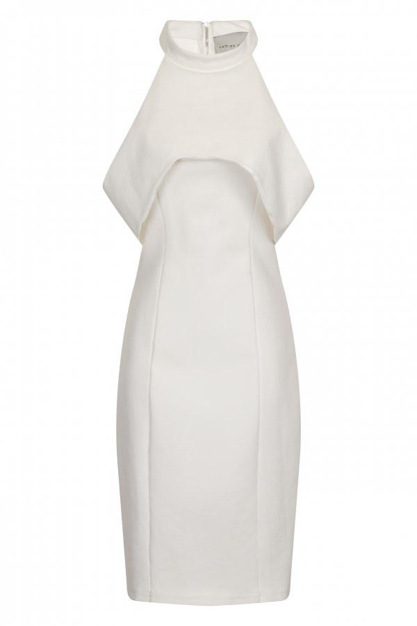 Open Sleeve Body-Con Mid Dress, Dhs240, Lavish Alice